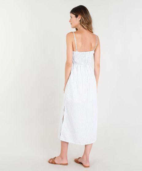 Vestido-Midi-Mindset-Listrado-com-Laco-e-Fendas-Alcas-Finas-Decote-V-Off-White-9258508-Off_White_2
