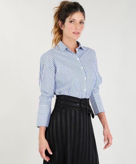 Camisa-Feminina-Mindset-Listrada-Manga-Longa-Azul-9385662-Azul_1