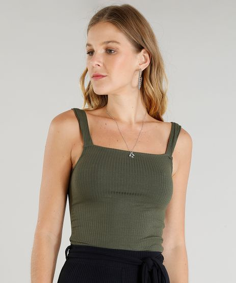 Regata-Feminina-Cropped-Canelada-Verde-Militar-9429423-Verde_Militar_1