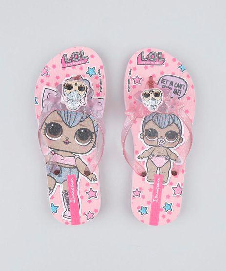 Chinelo-Infantil-LOL-Surprise-Estampado-com-Glitter-Rosa-9448462-Rosa_1
