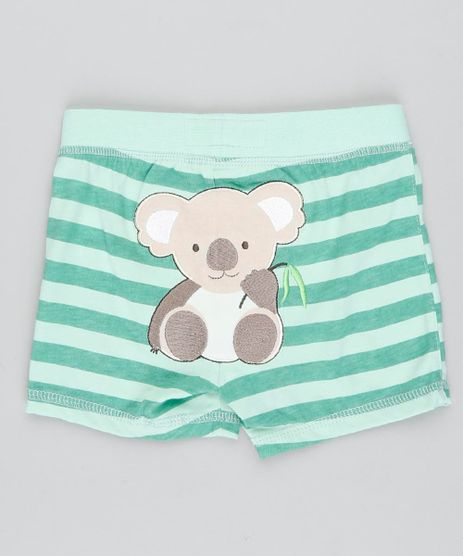 Short-Infantil-Coala-Listrado-Verde-Claro-9188437-Verde_Claro_1