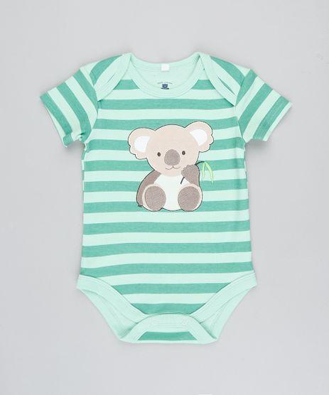 Body-Infantil-Coala-Listrado-Manga-Curta-Verde-Claro-9188434-Verde_Claro_1