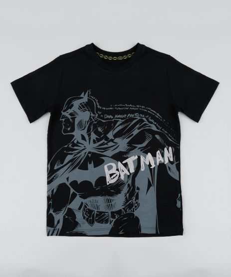 Camiseta-Infantil-Batman-Manga-Curta-Gola-Careca-Preta-9410320-Preto_1