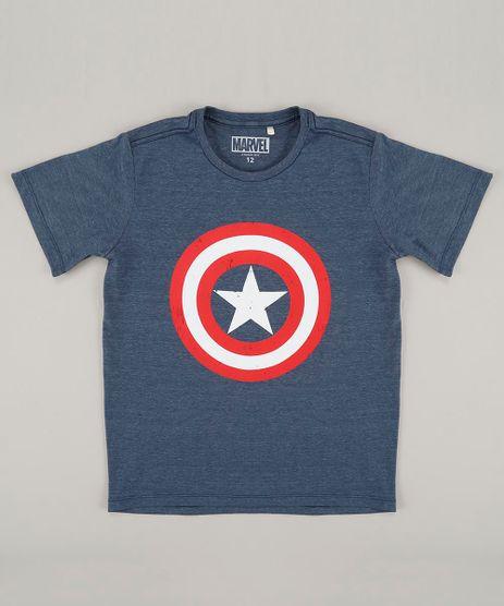 Camiseta-Infantil-Capitao-America-Manga-Curta-Gola-Careca-Azul-9415951-Azul_1
