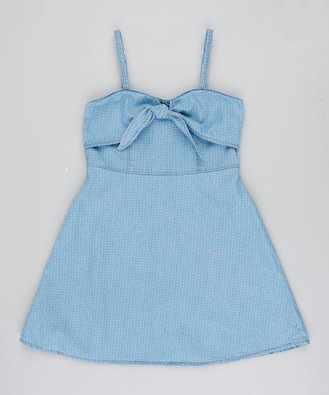 Vestido-Jeans-Infantil-Estampado-com-Laco-Alca-Fina-Azul-Claro-9232771-Azul_Claro_1