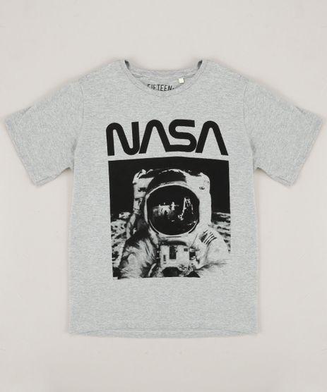 Camiseta-Infantil-Astronauta-Manga-Curta-Gola-Careca-Cinza-Mescla-9427587-Cinza_Mescla_1