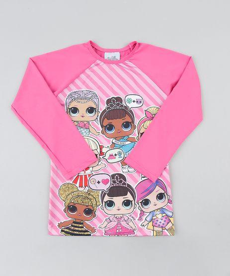 Blusa-de-Praia-Infantil-LOL-Surprise-Raglan-Manga-Longa-Pink-9386627-Pink_1