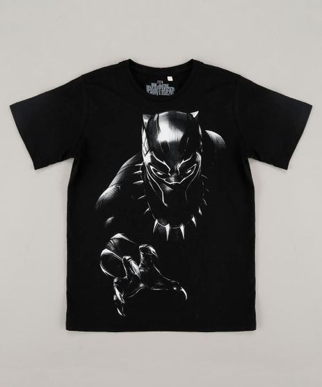Camiseta-Infantil-Pantera-Negra-Manga-Curta-Gola-Careca-Preta-9420668-Preto_1