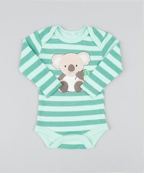 Body-Infantil-Coala-Listrado-Manga-Longa-Verde-Claro-9188435-Verde_Claro_1