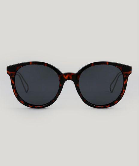 Oculos-de-Sol-Redondo-Feminino-Tartaruga-9485564-Tartaruga_1