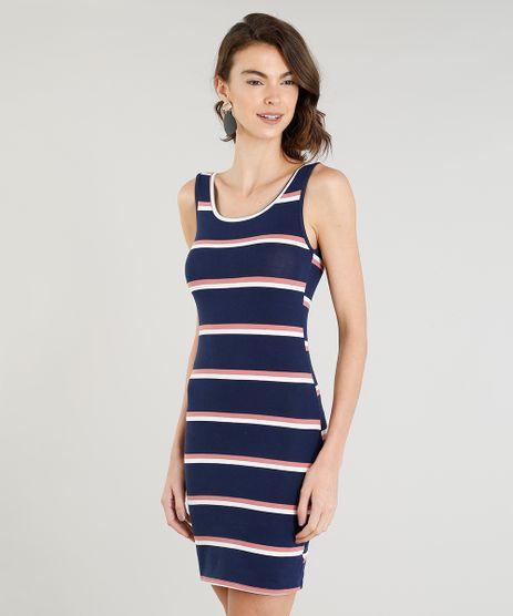 Vestido-Feminino-Basico-Curto-Listrado-Alca-Media-Decote-Redondo-Azul-Marinho-9388010-Azul_Marinho_1