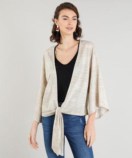 Kimono-Feminino-Curto-Estampado-com-No-Bege-9392262-Bege_1