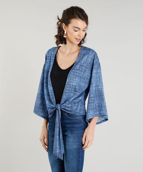 Kimono-Feminino-Curto-Estampado-com-No-Azul-9392260-Azul_1