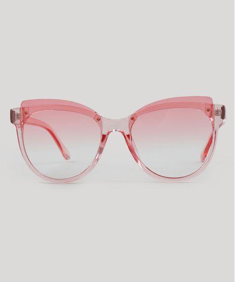 Oculos-de-Sol-Redondo-Feminino-Rosa-9485573-Rosa_1
