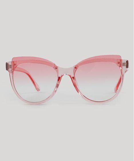 508eedf2d Oculos-de-Sol-Redondo-Feminino-Rosa-9485573-Rosa_1 ...