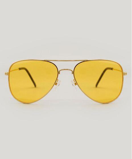 Oculos-de-Sol-Aviador-Unissex-Dourado-9485672-Dourado_1