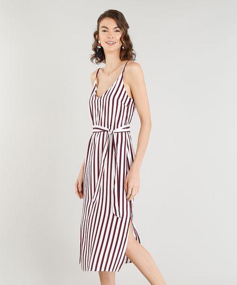 Vestido-Feminino-Midi-Listrado-Navy-com-Faixa-para-Amarrar-Alca-Fina-Branco-9357658-Branco_1