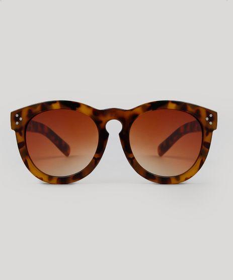 ddc59b18df729 Oculos-de-Sol-Redondo-Feminino-Tartaruga-9474138-Tartaruga 1