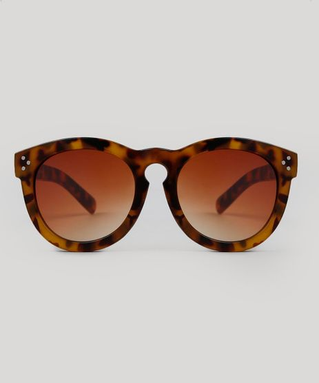 Oculos-de-Sol-Redondo-Feminino-Tartaruga-9474138-Tartaruga 1 423c9523e5