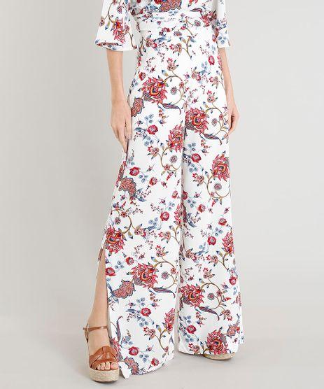Calca-Pantalona-Feminina-Estampada-Floral-com-Fendas-Off-White-9414782-Off_White_1
