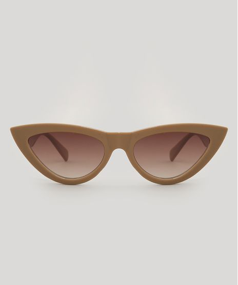 Oculos-de-Sol-Gatinho-Feminino-Bege-9485579-Bege_1