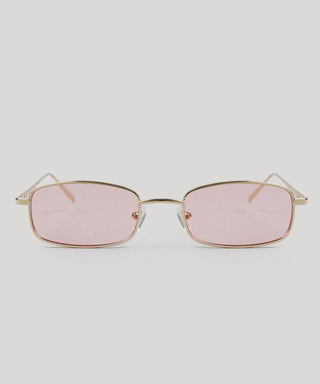 0a2a8ccac14e0 Oculos-de-Sol-Quadrado-Feminino-Dourado-9485582-Dourado 1