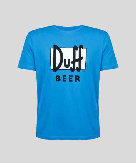 Camiseta-Masculina-Carnaval-Duff-Os-Simpsons-com-Capa-Manga-Curta-Azul-9421368-Azul_1