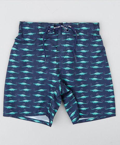 Bermuda-Infantil-Estampada-de-Jacares-Azul-Marinho-9157015-Azul_Marinho_1