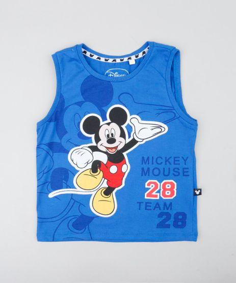 Regata-Infantil-Mickey-com-Recorte-Gola-Careca-Azul-Royal-9428386-Azul_Royal_1