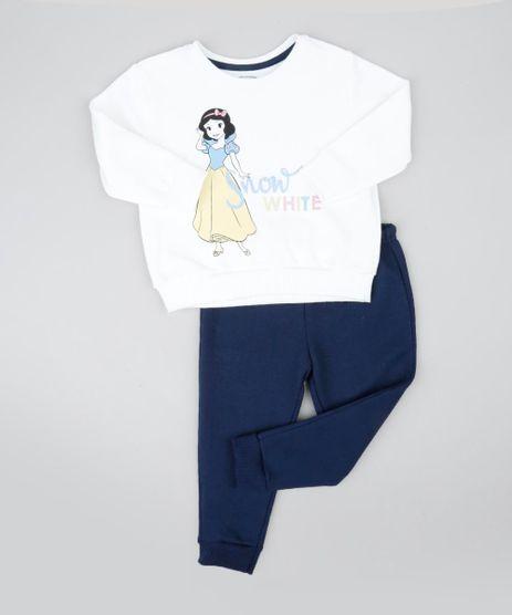 Conjunto-Infantil-Branca-de-Neve-de-Blusao-Off-White---Calca-em-Moletom-Azul-Marinho-9419582-Azul_Marinho_1