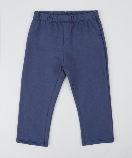 Calca-Infantil-em-Moletom-com-Bolsos-Azul-Marinho-9425616-Azul_Marinho_1