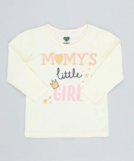 Blusa-Infantil--Momy-s-Girl--com-Glitter-Manga-Longa-Decote-Redondo-Amarelo-Claro-9420700-Amarelo_Claro_1