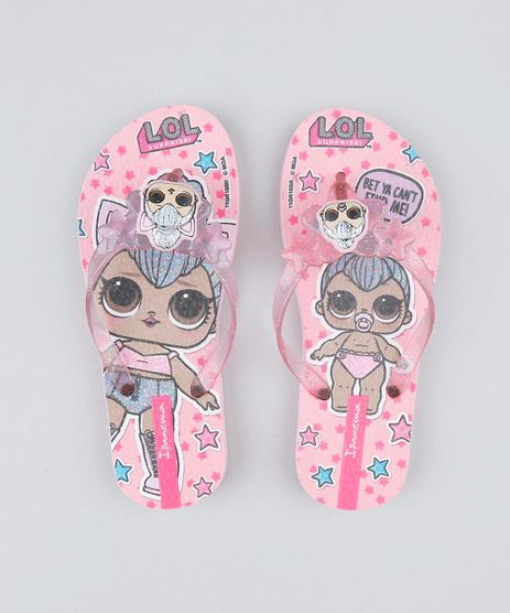Chinelo-Infantil-LOL-Surprise-Estampado-com-Glitter-Rosa-9448462-Rosa_1
