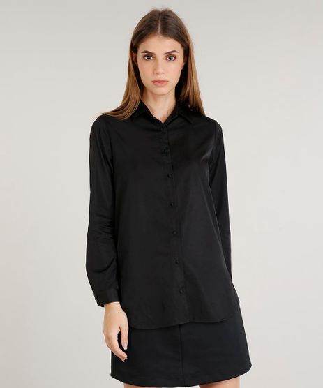 Camisa-Feminina-Mindset-Acetinada-Manga-Longa-Preta-9389327-Preto_1