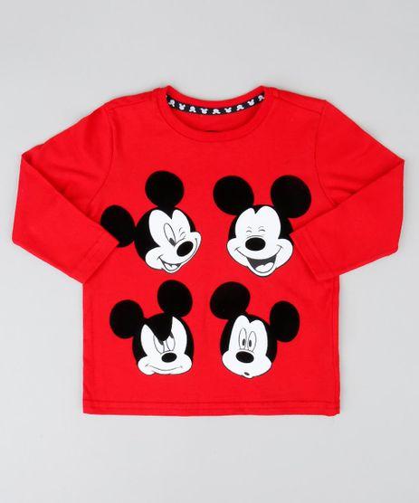 Camiseta-Infantil-Mickey-Manga-Longa-Gola-Careca-Vermelha-9426306-Vermelho_1