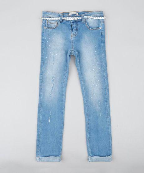 Calca-Jeans-Infantil-com-Strass-e-Cinto-Trancado-Azul-Claro-9418358-Azul_Claro_1