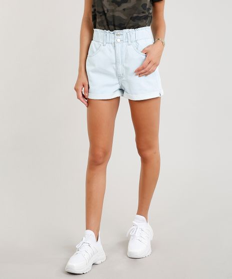 Short-Jeans-Feminino-Clochard-com-Barra-Dobrada-Azul-Claro-9458550-Azul_Claro_1