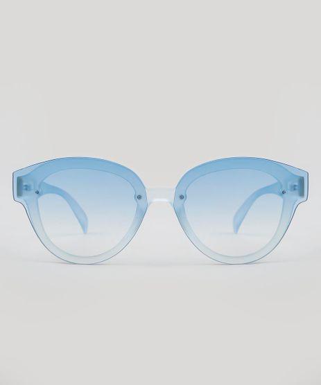 Oculos-de-Sol-Mindset-Redondo-Feminino-Azul-Claro- a494ca416b