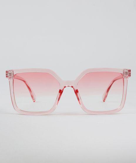 Oculos-de-Sol-Mindset-Quadrado-Feminino-Rosa-9488576- 883fcaa64e