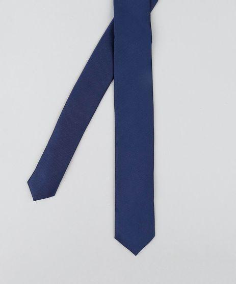 1b4fff538a4 Gravata-Masculina-Slim-Acetinada-Azul-Marinho-9410047-Azul Marinho 1