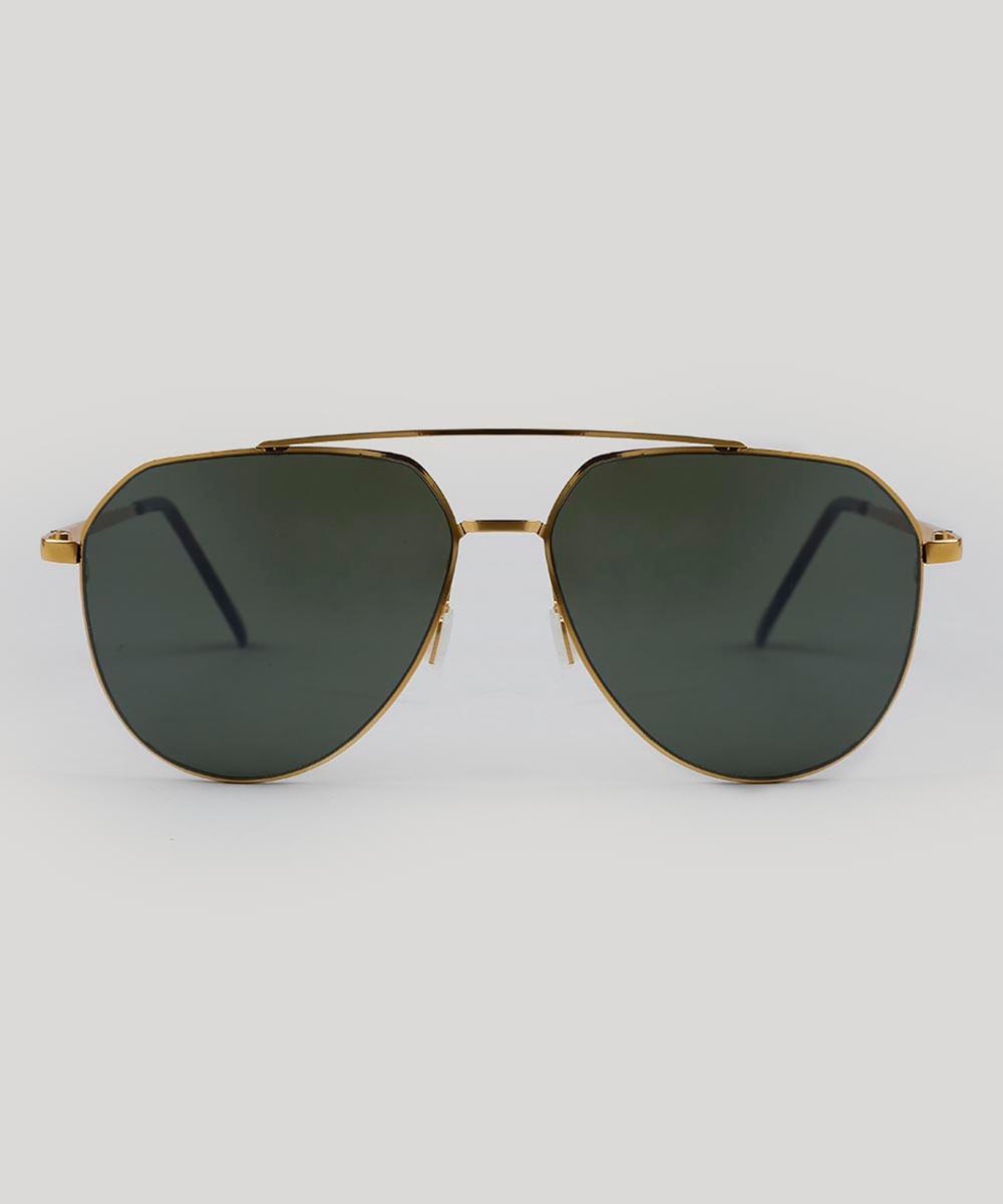 95f3800284d6e ... Oculos-de-Sol-Aviador-Masculino-Oneself-Dourado-9484130-