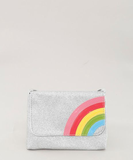 Bolsa-Infantil-Arco-Iris-com-Glitter-Prateada-9280482-Prateada_1