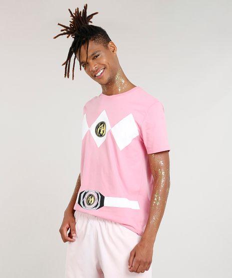 Camiseta-Masculina-Carnaval-Power-Ranger-Rosa-8525481-Rosa_1