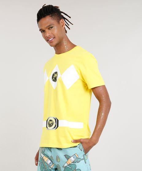 Camiseta-Masculina-Carnaval-Power-Ranger-Amarela-8525423-Amarelo_1