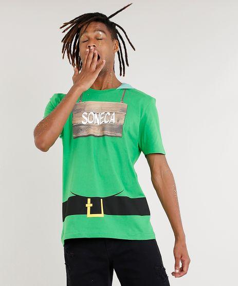Camiseta-Masculina-Carnaval-7-Anoes--Soneca--com-Capuz-Verde-8933827-Verde_1