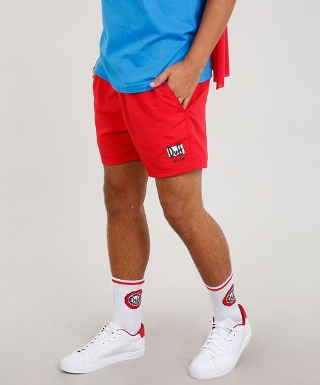 Short-Masculino-Carnaval-Duff-Os-Simpsons--Vermelho-9462367 df3829ecf2c77