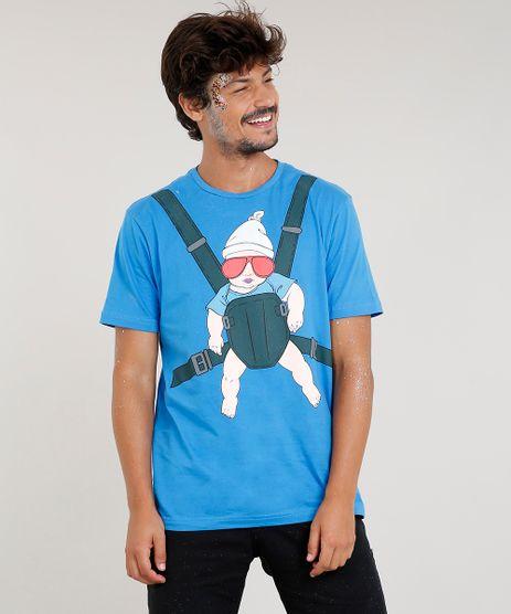 Camiseta-Masculina-Carnaval-Carlos-Se-Beber-Nao-Case-Manga-Curta-Gola-Careca-Azul-9411359-Azul_1