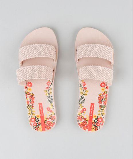 f279161ef Chinelo-Slide-Feminino-Ipanema-Texturizado-Rose-9210410-Rose_1
