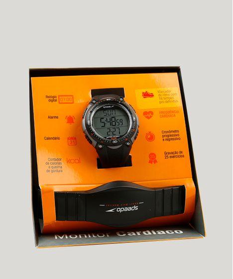 0c28b32a5d0 Kit de Relógio Digital Speedo Masculino + Monitor Cardíaco ...