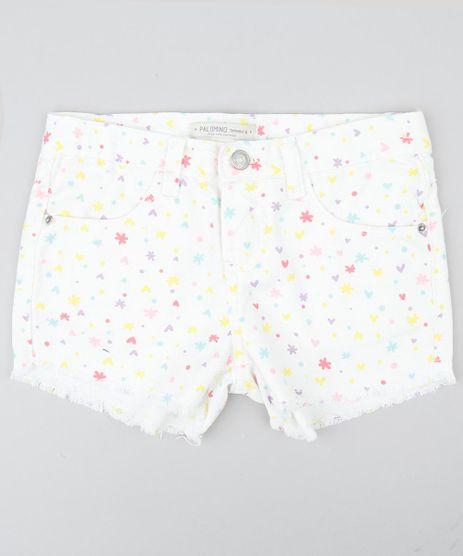 Short-Color-Infantil-com-Estampa-de-Coracoes-e-Flores-com-Barra-Desfiada-Off-White-9418458-Off_White_1